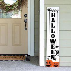 Halloween Porch, Halloween Signs, Happy Halloween, Halloween Decorations, Outdoor Signs, Outdoor Decor, Wood Signs, Diy Signs, Front Porch Signs