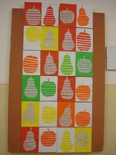 Výtvarné práce žáků 2. B | nápady pro děti | Pinterest ... Fall Art Projects, School Art Projects, Projects To Try, Diy And Crafts, Crafts For Kids, Arts And Crafts, Paper Crafts, Autumn Crafts, Autumn Art