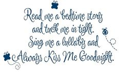 Read Me a Story Wall Decal Poem Baby Nursery by openheartcreations, $45.00