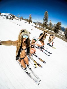 Ski into summer in Washington Post features the slopes at Squaw Valley Alpine Meadows. Snow In Summer, Winter Snow, Ski And Snowboard, Snowboarding, Western U, Ski Bunnies, Ski Girl, Reno Tahoe, Alpine Meadow