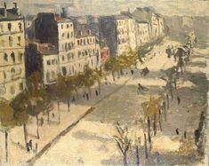 """""""L'avenue de Versailles"""" (1904), une oeuvre d'Albert Marquet (1875-1947)  (Paris 16ème)"""