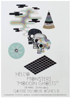 Hell'O Monsters @ galerie du jour 28/03/2013 - 25/05/2013