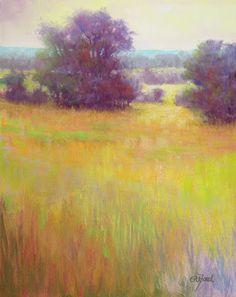"""Paula Ann Ford, Fine Artist: ©2012 Paula Ann Ford, Dreamscape. Soft Pastels on board, 8""""x10"""" (#8-2012)"""