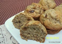 Just as with desserts, my husband and I differ slightly when it comes to our preferences for muffins. He likes chocolate chips in his; me,...