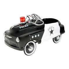Dexton Police Comet Sedan - Black - DX-20432 $310 Inspired by the retro pedal cars designed 1950