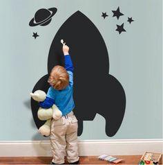 rocket blackboard