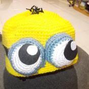 Minion Bonnet - via @Craftsy