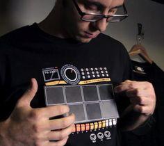 Electronic Drum Machine Shirt - $36