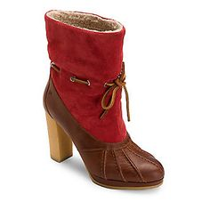 Rockport Women's Courtlyn Duck Ankle Boots :: Women's Shoes :: Boots :: FootSmart