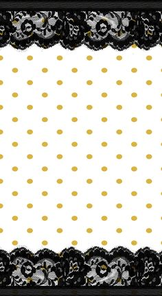 gold, dots, lace, black, white, dividers, personal, printable