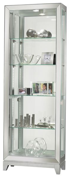Shayne Curio Cabinet by Howard Miller - Home Gallery Stores