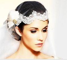 Exquisite Bridal Wedding Veil 619 by PrettySquareUSA on Etsy