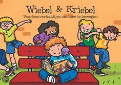Wiebel & Kriebel voorleesverhaaltjes om mee te bewegen!  Het boek bevat 20 spannende verhaaltjes waarbij de kinderen tijdens het voorlezen niet stil zitten, maar in de huid kruipen van Wiebel en lekker met hem mee dansen, springen, lachen, kruipen en huppelen!