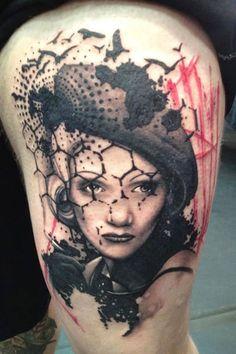 Tattoo Artist - Jacob Pedersen - woman tattoo | www.worldtattoogallery.com