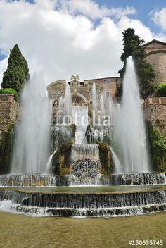 Tivoli - Villa d'Este - La fontana di Nettuno