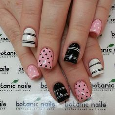Maybe you are already planning on buying some clothes of these two colors. But do you know how to wear them on your nails? For today, I'd like to show you 12 rose quartz nail designs for 2016 Get Nails, Fancy Nails, Love Nails, White Nail Designs, Nail Art Designs, White Nails, Pink Nails, Black Nails, Gorgeous Nails