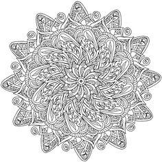 Krita Mandala 4 by WelshPixie on DeviantArt