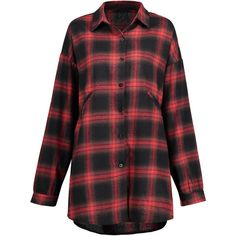 Checked 4xl Plus Size Check Button Up Shirt (69 MYR) ❤ liked on Polyvore featuring tops, blouses, checked shirt, button down shirt, checkered shirt, plus size button down blouses and button up shirts
