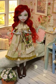 RUBI ooak custom monster High Repaint | Flickr - Photo Sharing!