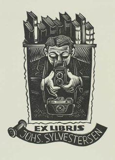 Art-exlibris.net - exlibris by Jerzy Druzrycki for Johs. Sylvestersen