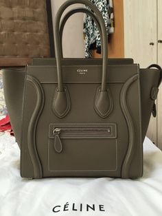 My new baby Celine micro luggage tote
