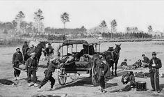 Civil War ambulance