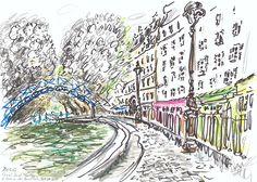 Paris Canal Saint Martin Bassin Des Récollets - Yann Le Houelleur