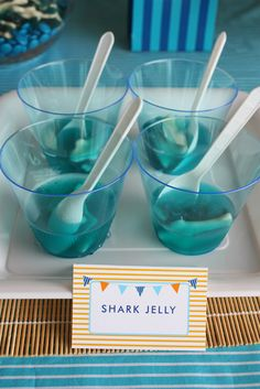 sharks #fish party @Kimberly Simpson... how cute is this???