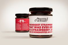 Memories on Bread Jams (Concept) on Packaging of the World - Creative Package Design Gallery