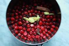 Spiced Cranberry Shrub   Tangy Cranberry Applesauce