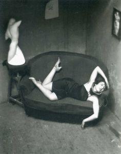 © André Kertész, Satiric Dancer, Paris, 1926