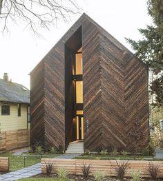 Palatine Passive House by Malboeuf Bowie Architecture 📷Shea Pollard #palatine…