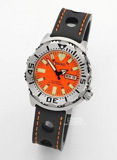 Seiko Marinemaster, Seiko Monster, Seiko Diver, Seiko Watches, Monsters, Watches For Men, Men's Fashion, Leather, Accessories