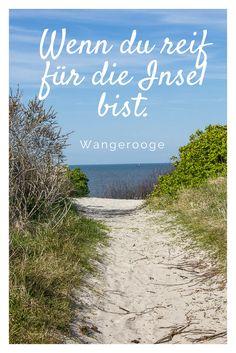 Schon mal auf Wangerooge gewesen? Aktiv entspannen, das kannst du hier auch mit Kindern.