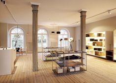 Strolz Leuchten © Strolz Leuchten Feldkirch, Modern, Divider, Room, Furniture, Home Decor, Craft Business, Shopping, Light Fixtures