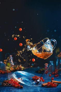 Tea time with levitation by Dina Belenko on 500px