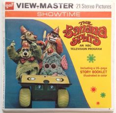 Vintage The Banana Splits 1970 GAF View-Master Pack B 502 Stereo Slide Pictures Hanna-Barbera by vintagebaron on Etsy Classic Cartoon Characters, Classic Cartoons, 70s Cartoons, Vintage Cigarette Ads, 1960s Toys, 1970s, View Master, Master Art, Vintage Lunch Boxes