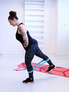 Kuminauhatreeni jaloille!   Monna treenaa Joko, Fitness, Pants, Fashion, Trouser Pants, Moda, Fashion Styles, Women's Pants, Women Pants