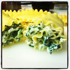 Ricotta Spinach Roll Up Lasagna | Baker Kella