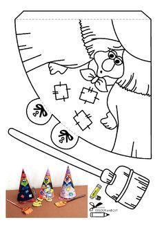 Cadı kalıbı etkinlikleri çalışma sayfası, kalıpları etkinliği çalışmaları örnekleri sayfaları kağıdı yazdır, çıkart, indir.