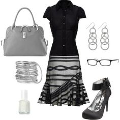 Office or night out on the town with those heels........either way, this rocks:) - Click image to find more hot Pinterest pins