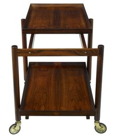 DANISH-ROSEWOOD-SERVING-TABLE-TROLLEY-BY-POUL-HUNDEVAD