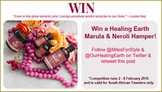 this exquisite Marula & Neroli Hamper! Competition ends 8 February Enter now! February 2016, Hamper, The Cure, Competition, Basket