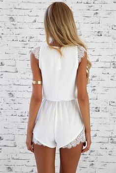 Turtlelace Playsuit | SABO SKIRT