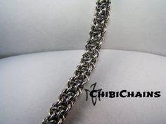 Bracelet - Vipera Berus by Chibichains #Chainmail #chainmaille #ViperaBerus #bracelet #Chibichains