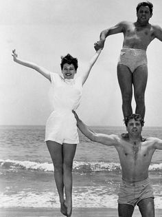Ava Gardner and Burt Lancaster, promo photo for The Killers