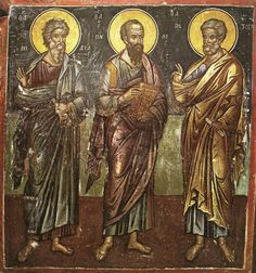 Byzantine Icons, Orthodox Icons, Fresco, Saints, Religion, Miniatures, Antiques, Pictures, Painting