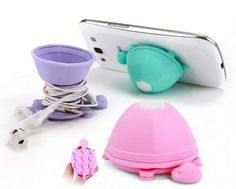 Little Turtle Model Earphone Headphone Cable Winder Silicone suction cup Cord Holder For Iphone samsung Phone holder stand. Iphone 8, Coque Iphone, Apple Iphone, Phone Accesories, Cell Phone Accessories, Earphones Wrap, Best Mobile Phone, Mobile Phones, Accessoires Iphone