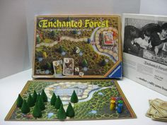Vintage board game - Enchanted Forest by Ravensburger