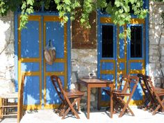 Well here is a short photo presentation of the beautiful island of Symi . After the play in greek and turkish television of the very popular TV serial -. Coffee Places, Small Island, Door Knockers, Greece Travel, Greek Islands, Beautiful Islands, Art And Architecture, Holiday Fun, Windows
